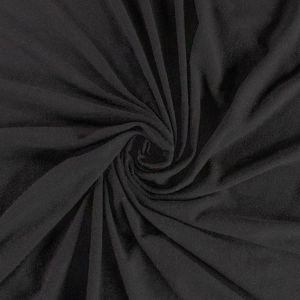 Hemp & Bamboo Black Lycra Jersey - Swirl