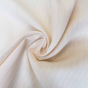 Organic Hemp Herringbone Fabric Swirl