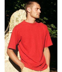 Hempiness 250g T-shirt - Crimson Red